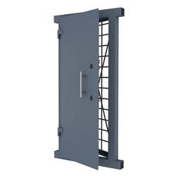 Door for gunsafe room